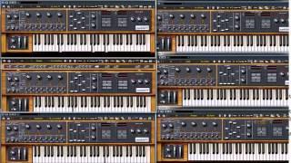 Arturia  Moog Modular V 2 Demo song