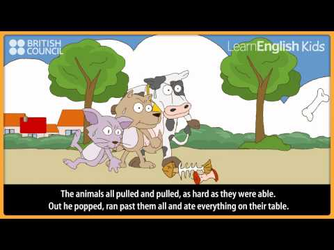 The greedy hippo - Kids Stories - LearnEnglish Kids British Council