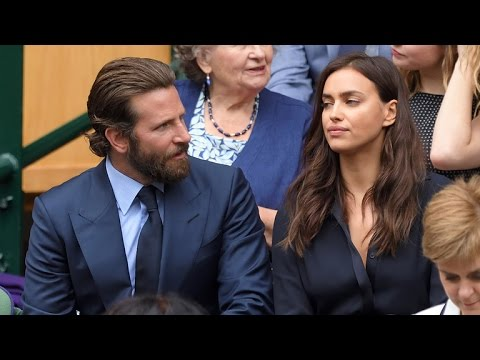 People Can't Stop Speculating that Bradley Cooper and Irina Shayk Were Fighting at Wimbledon