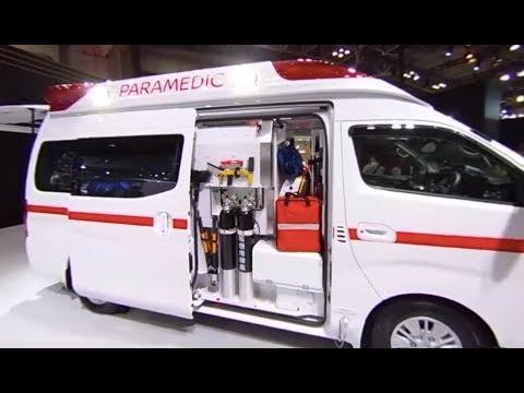 【360°VR動画】東京モーターショー2017 日産NV350 パラメディック・コンセプト
