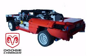 Lego Technic Dodge charger By Nico71 FR