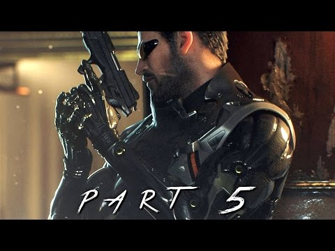 Deus Ex Mankind Divided Walkthrough Gameplay Part 5 - Titan