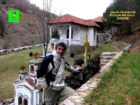 Na 800 m.n.v.vo prekrasnite pazuvi na planinata Vlaina i na samo 2 km.od selo Zvegor (Delchevo),se naogja prekrasniot manastir Sveti Ilija.Samiot manastir e vgnezden vo prekrasen shumski ambient...
