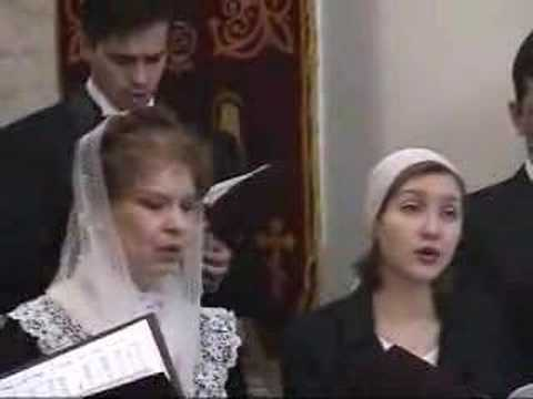 Choir in Moscow, Russia with Lina Mkrtchyan Music Videos