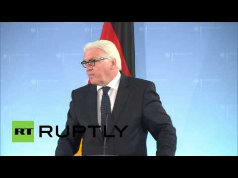 Germany: Ukraine violence must end, says EU foreign minister Ashton