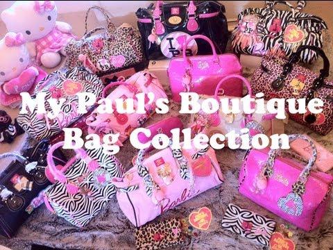 Jemma Pixie Hixon-My Paul's Boutique Bag Collection+Barbie Bags