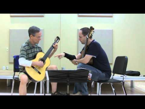 Denis Azabagic teaches Study no. 17, A maj by Dionisio Aguado