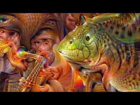 "Google Deep Dream Zoom ""Inside an artificial brain"""