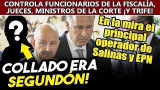 Collado era segundón! Peña y Salinas dieron a otro abogado el control de lo jueces y ministros