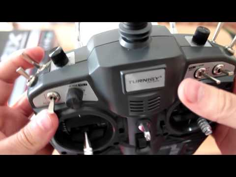 Turnigy 9x 9Ch Transmitter unboxing [HD]