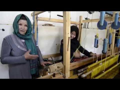 La produzione della seta afghana