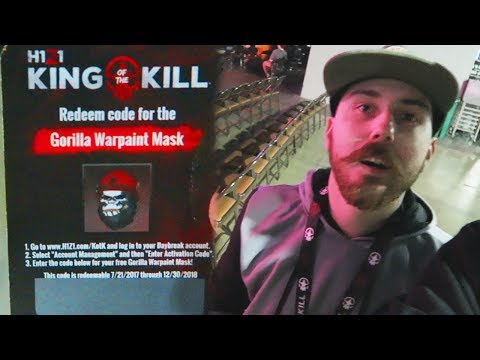 I Stole a GORILLA WARPAINT MASK From a PRO! + Sneaking Into H1Z1 Elite Series at Dreamhack Atlanta