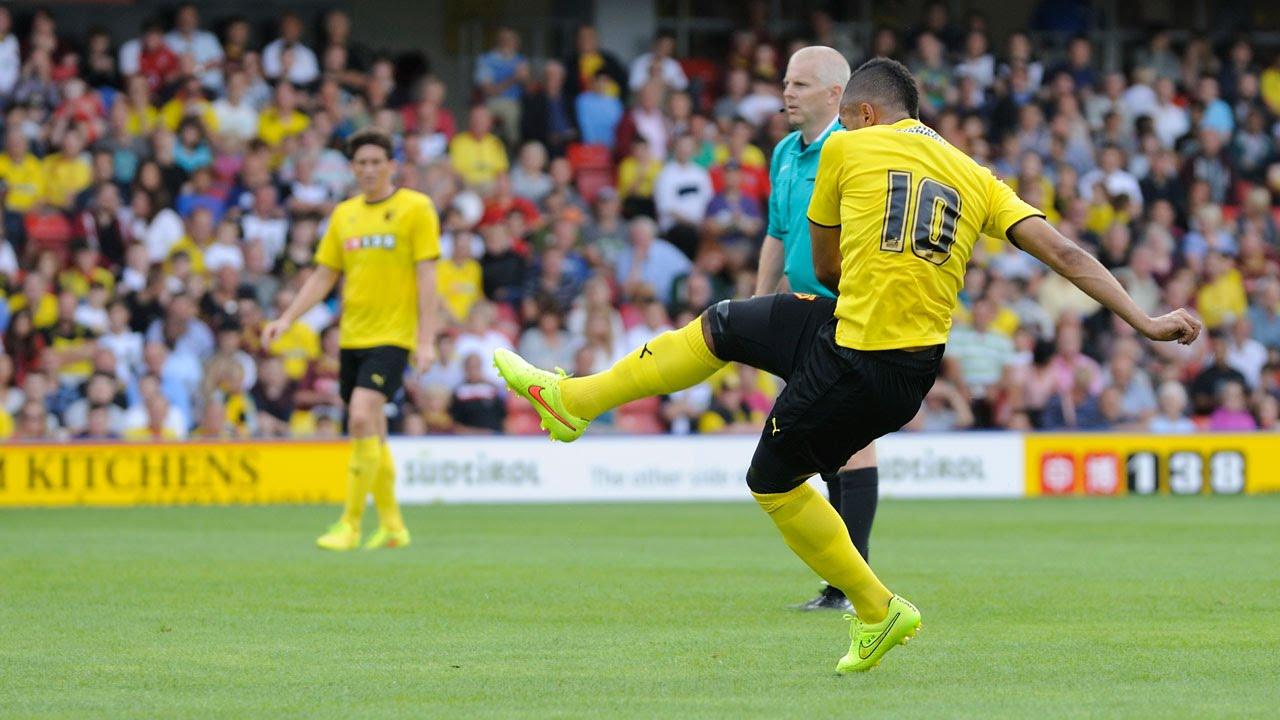Lewis Mcgugan Free Kick Watford Mcgugan's Fantastic Free-kick
