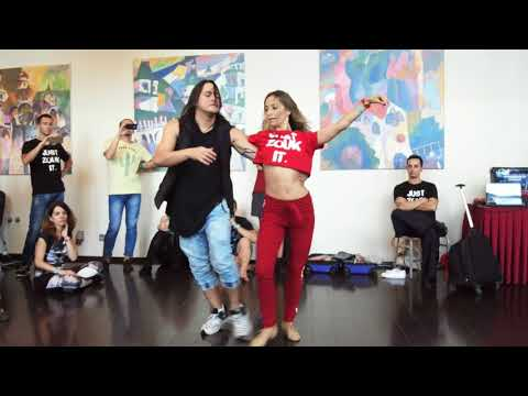 RZCC2018: Anna & Mafie in workshop demo on Saturday by Alexander Galyuk ~ Zouk Soul