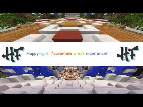 MON SERVEUR MINECRAFT PVP Play.Happyfight.eu