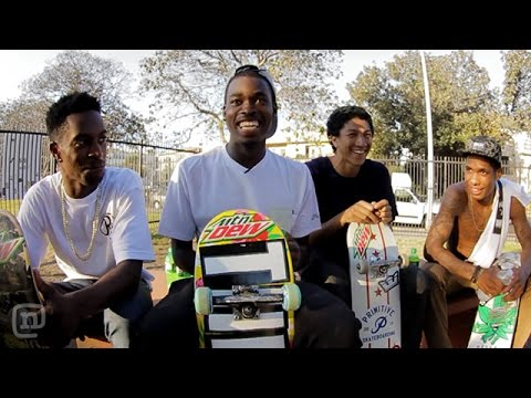 Skate Dreams New MTN DEW Team Rider! Ep. 4 Presented by Mountain Dew