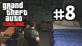 Grand Theft Auto Online Part 8 Gameplay Walkthrough - My First Apartment (GTA 5 Online)