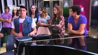 Violetta 2 - Vilu, Fran und Cami singen Codigo amistad (Folge 37) Deutsch