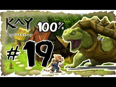 Legend of Kay Anniversary Walkthrough Part 19 (PS4, PS3, WiiU, PS2) 100% Harbour