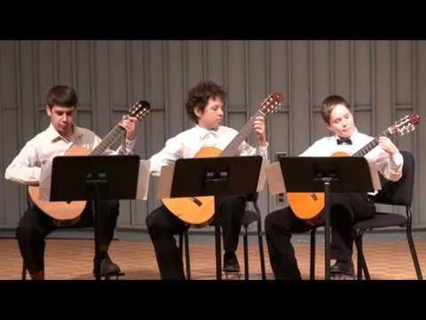 Danza del Norte by Jorge Morel. Joseph Azbel, Ian Mueller, Ben Zaydman