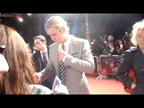 Chris Hemsworth – The Avengers – Premiere Roma