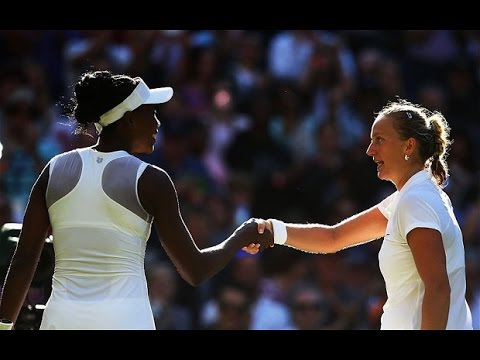 Petra Kvitova VS Venus Williams Highlight 2014 R3