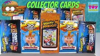 Collector Cards Stickers Palooza Grossery Gang Garbage Pail Kids Wacky Packages | PSToyReviews