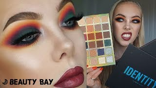 TESTING BEAUTYBAY'S NEW 'COLOUR THEORY' PALETTES! | Lsgmakeup