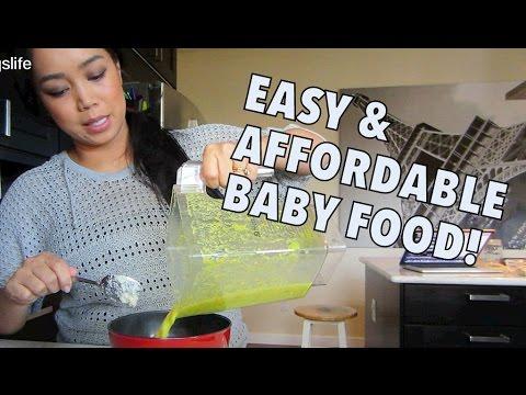EASY & AFFORDABLE BABY FOOD! - November 23, 2014 - itsJudysLife Daily Vlog