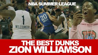 The Best Debut Dunks of Zion Williamson from NBA Summer League 2019!!!