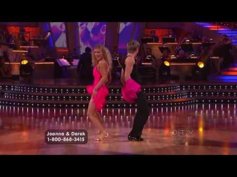 Joanna Krupa & Derek Hough DWTS Wk 9 – Salsa (HQ)