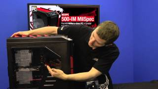 NCIXPC proudly presents the first MSI Military Class PC in Canada, the 500-IM MilSpec!