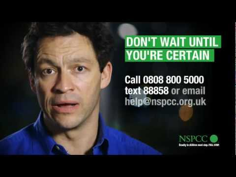 Actor Dominic West supports NSPCC Don't Wait campaign