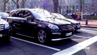 NEW 2013 Mercedes Benz ML63 AMG W166 LOUD acceleration! 1080p Full HD
