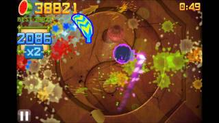 Fruit Ninja Over 75 000 in Arcade Mode!!!