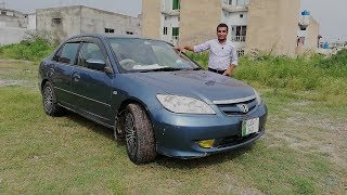 Honda Civic Exi (2005)  Reviewed by CEA (Excellent car to  drive  on smooth roads)