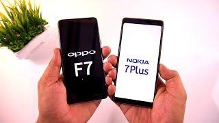 Nokia 7 Plus vs Oppo F7 Speed Test & Full Comparison [Urdu/Hindi]