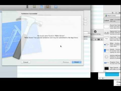 Xcode 4 - How to upload an iPhone or iPad app to the iTunes app store