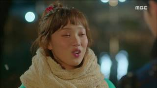 [Weightlifting Fairy Kim Bok Ju] 역도요정 김복주 ep.12 Sung-Kyung,  white in the snow, Kiss. 20161222