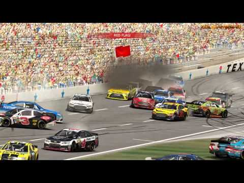 NASCAR 15 The Game Crash Compilation 2