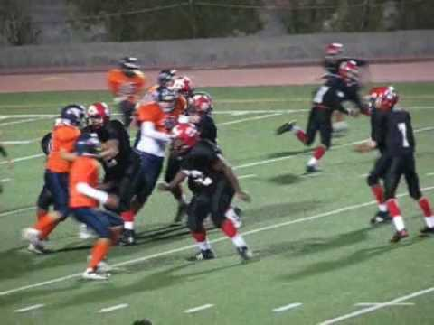 Timmy Brown #64 Right Guard Red Lion Christian Academy Bear De