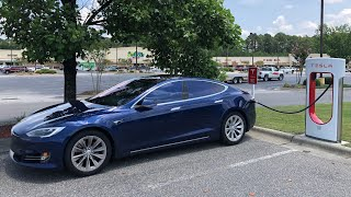 1000 miles trip on my new Tesla Model S 75D