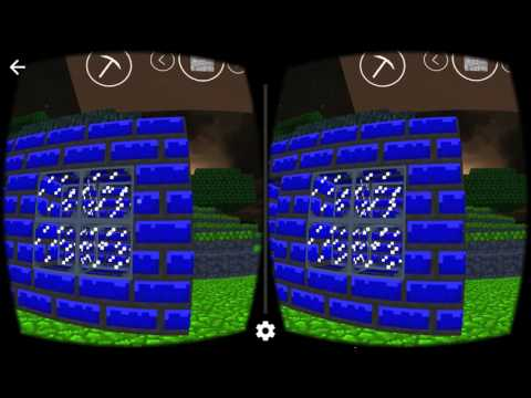 Mineforge VR Google Cardboard screenshot for Android