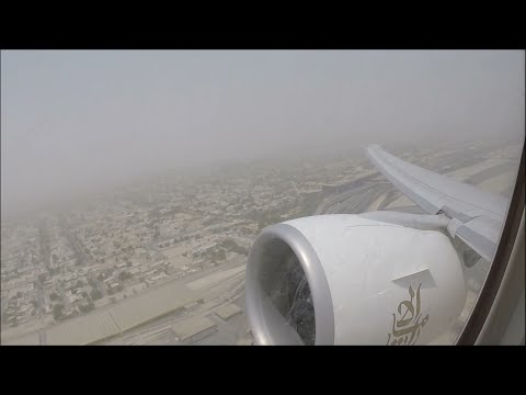 MONSTROUS Business Class Boeing 777 Takeoff from Dubai on Emirates!!