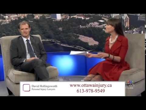 Ottawa personal injury lawyer David Hollingsworth discusses Ontario accident benefits