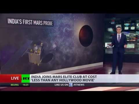 Astronomic Price? India first Mars probe costs 'less than Hollywood film'