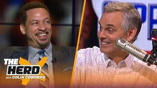 Chris Broussard thinks NBA players should get longer deals to stop trade demands | NBA | THE HERD