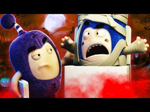 Halloween | Oddbods NEW EPISODES | Halloween Cartoons For Children | Oddbods & Friends