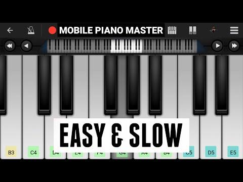 Ruk ja O Dil Deewane(Slow & Easy) Piano |Piano Keyboard|Piano Lessons|Piano Music|learn piano Online
