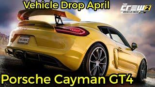 The Crew 2 - Porsche Cayman GT4 - Vehicle Drop April / Lets Play (German)